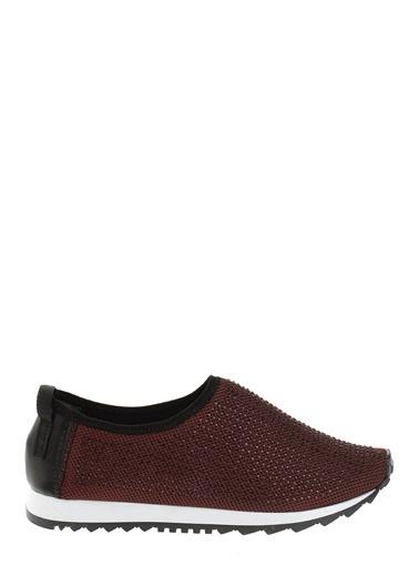 Derigo Kumaş Ayakkabı Bordo